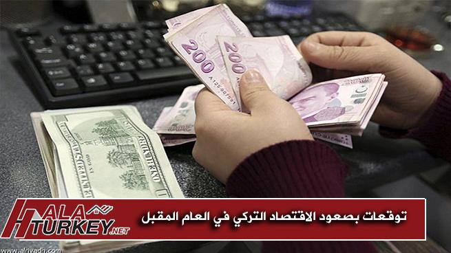 توقعات بصعود الاقتصاد التركي في العام المقبل